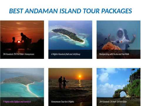 What should be included in Andaman tour package