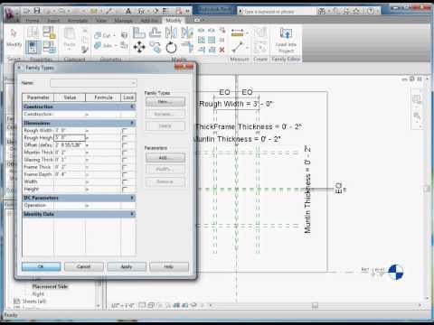 Easy Revit (2011) - 9.2 - Create Window Component