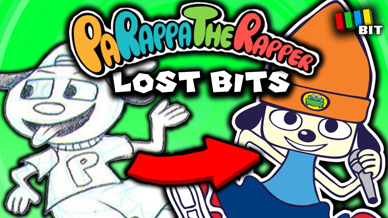 Parappa the Rapper (1 & 2) LOST BITS | Unused Content [TetraBitGaming]