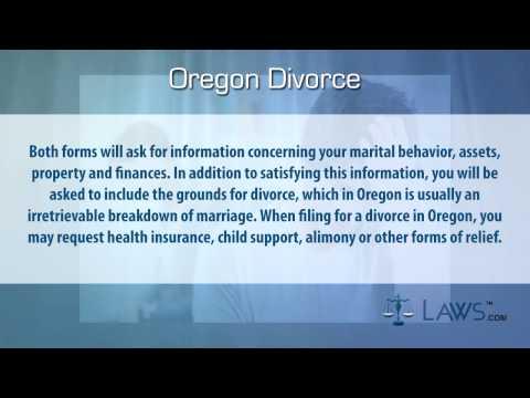 Oregon Divorce