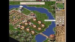 Caesar III - Mission 6 Peaceful (Lugdunum) [ITA Commentary]