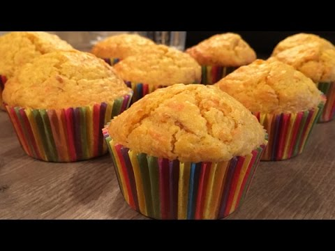 Apple-Carrots Muffins