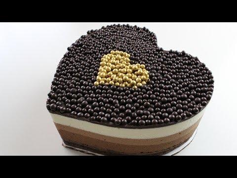 [Recipe] Brownie Triple Chocolate Mousse Cake + BONUS RECIPE
