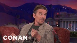 """Ethan Hawke Turned Down """"Independence Day""""  - CONAN on TBS"""