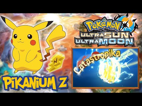 SECRET PIKACHU Z-MOVE??? // How To Get Pikanium Z - Pokemon UltraSun