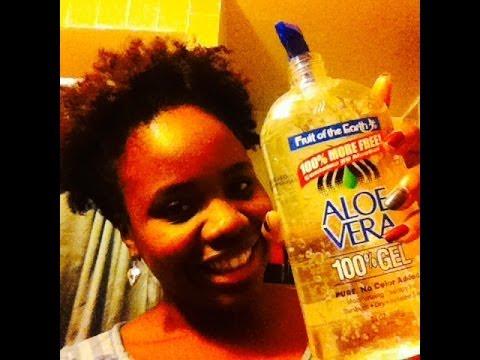 17| Fruit of the Earth Aloe Vera Gel Twistout Results (4C Hair)