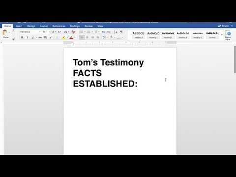 Tom Robinson Testimony Facts and Implications