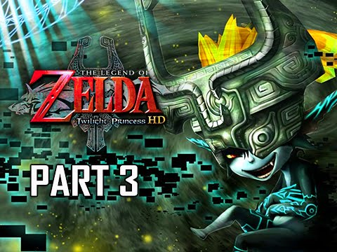The Legend of Zelda Twilight Princess HD Walkthrough Part 3 - Sword & Shield (Hero Mode Let's Play)