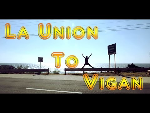 Travel : La Union To Vigan