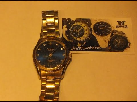How to change the battery on Armitron Diamond Watch Model Y121E/3