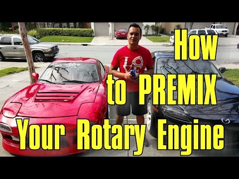 How to Premix your Rotary Engine