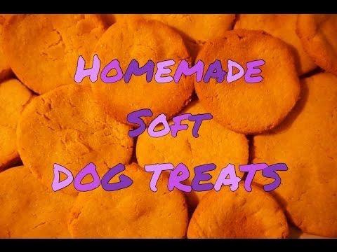 Homemade SOFT Dog Treats + Recipe