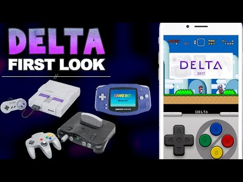 First Look: Delta Emulator for iOS! GBA, N64, SNES All-in-One Emulator for iPhone, iPad & iPod!