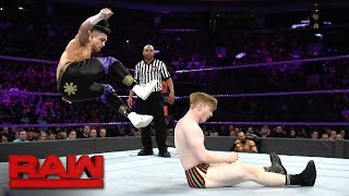Gentleman Jack Gallagher vs. TJ Perkins: Raw, April 17, 2017