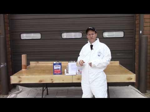 How to Fiberglass a Deck