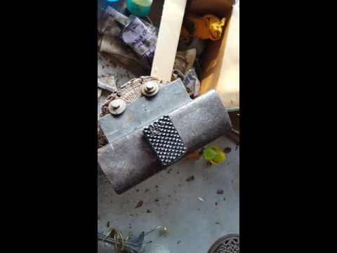Farrier rasp knife part 2
