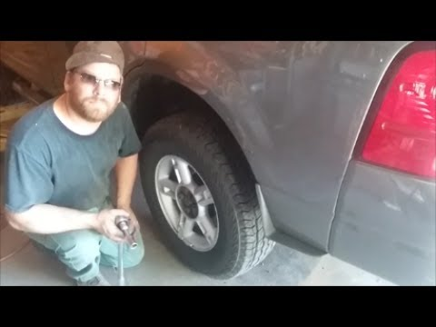Wheel Bearing Replacement On Ford Explorer