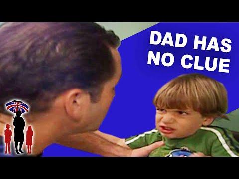 Supernanny | Dad Has NO IDEA How To Control His Kids