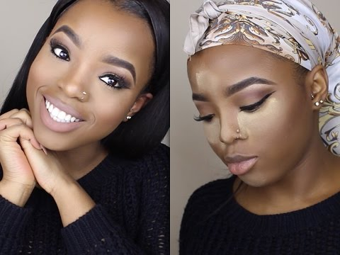Neutral Makeup Tutorial For Brown Skin | Makeupview co