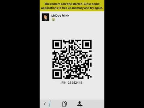 add friends for BBM
