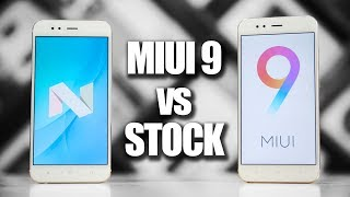Stock Android vs MIUI 9 - Mi A1 vs Mi 5X Speedtest Comparison!