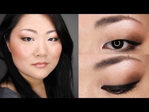 BACK TO SCHOOL / OFFICE EVERYDAY BRONZE MAKEUP TUTORIAL FOR ASIAN MONOLID EYES