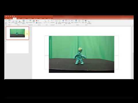 Stop Motion Animation - How to create a claymation video using only PowerPoint