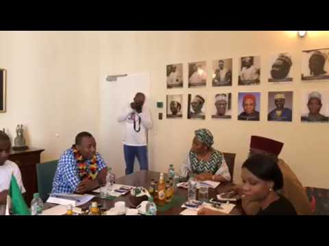 Omoyele Sowore Live in Nigeria embassy Berlin, Germany