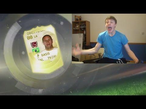 FIFA 15 - MY FIRST LEGEND!!!!!!!!!!