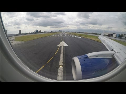 BA CityFlyer Embraer ERJ-190SR Scenic Takeoff From London City Airport (LCY)