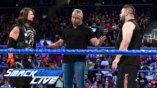 Kevin Owens demands a rematch with AJ Styles: SmackDown LIVE, Aug. 22, 2017
