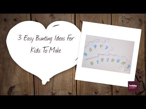 3 Easy Bunting Ideas to Make   Hobbycraft