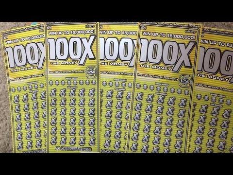 ** $100 100x the Money Scratch off Lottery Tickets ** SL's SCRATCHERS CHANNEL **