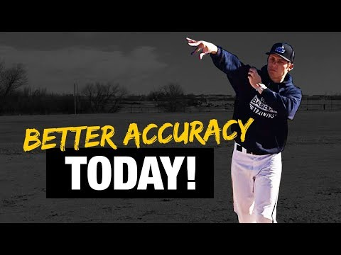 QUICKLY Improve Your Throwing Accuracy! - Be A More Consistent Baseball Player!