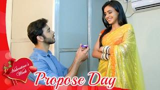 Karan PROPOSES Naina On Propose Day | Valentine
