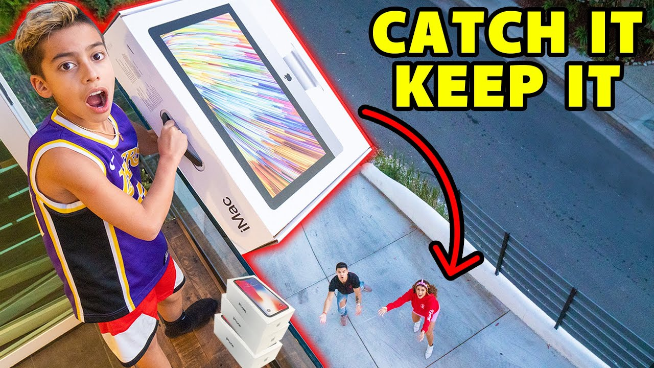If You CATCH it, You KEEP it! **EPIC CHALLENGE** | The Royalty Family