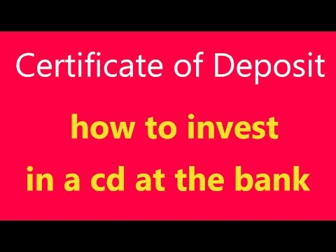 Certificate of Deposit: What Is It? How Does a CD Work? (Definition)