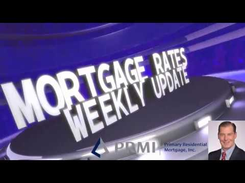 Mortgage Rates Weekly Video Update May 14 2018