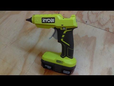 Ryobi One+ 18V Cordless Hot Glue Gun Review