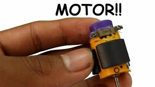 How to Make an Electric Motor at Home Easily