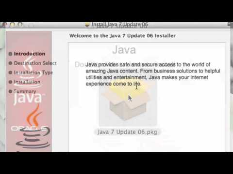 How to update Java on Mac OS X
