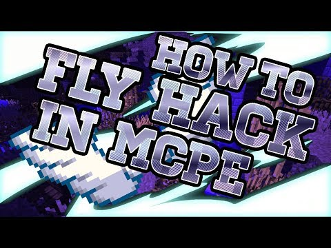 HOW TO FLY HACK IN MCPE 1.2.6/1.2.7 SERVERS