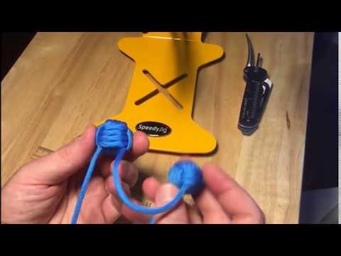 How to make a Begleri using the SpeedyJig Monkey Fist Jig