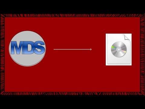 Como Converter Imagem MDF Para Iso