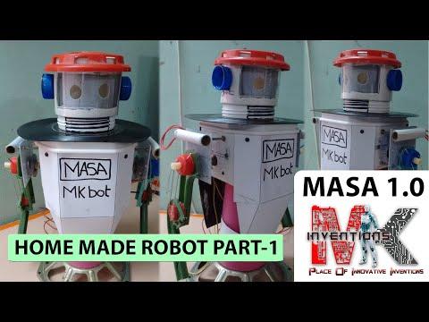 Home Made Talking Robot(MASA) Part 1