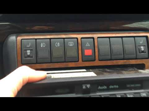 94-01 Audi A4 B5 faceplate/radio removal 94 95 96 97 98 99 00 01