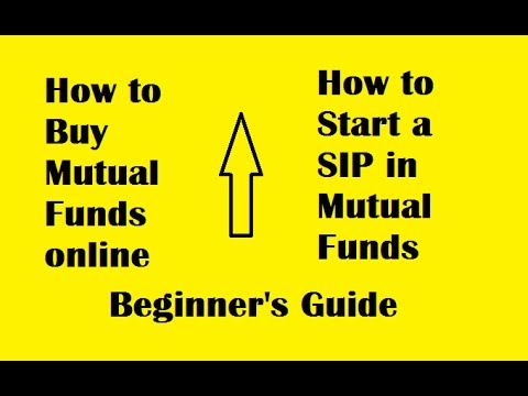 How to buy mutual funds online from home/ How to start SIP in mutual funds/ Investing in mutual fund