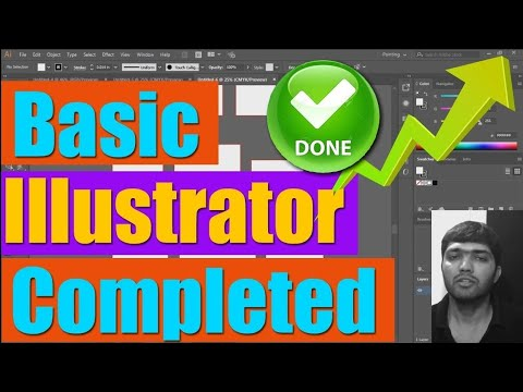 #Ai-46 Basic Illustrator Completed | crop mark, template, shortcuts, slice
