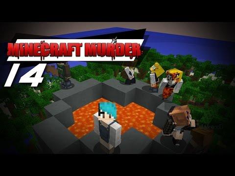 TO THE VOLCANO!!    Minecraft Murder #14