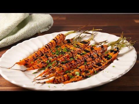 Balsamic Glazed Carrots | Delish
